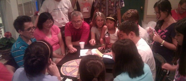 Late Night Goings on: Massive Trivial Pursuit Game in Progress